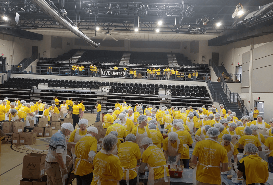 Day of Action:  300 Strong to Live United Against Hunger